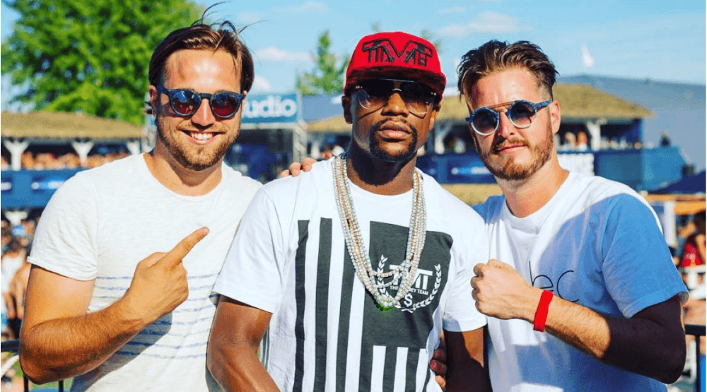 11 pictures of Floyd Mayweather partying in Montreal
