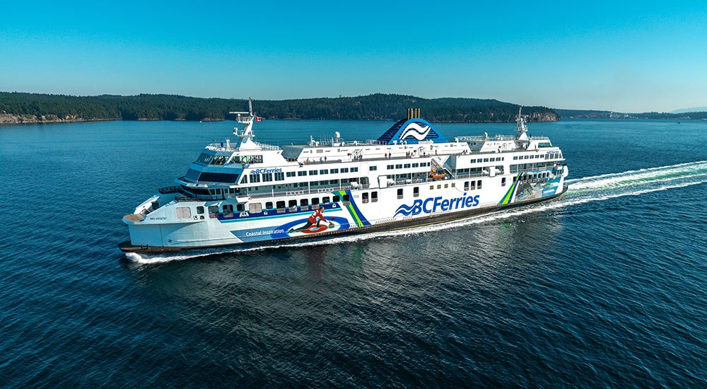 BC Ferries rescue mission delays Coastal Inspiration to Tsawwassen