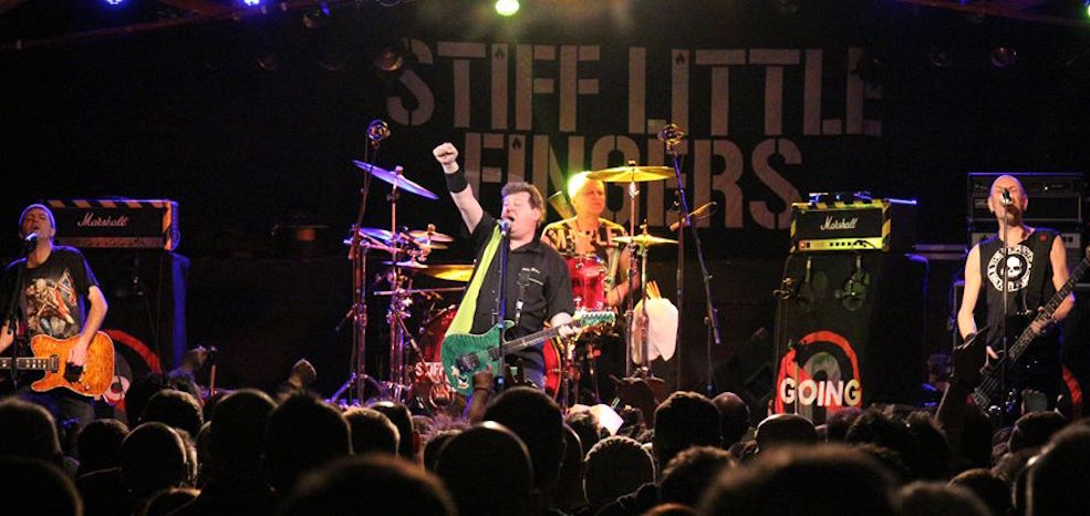 Stiff Little Fingers 2016 Calgary concert at Marquee