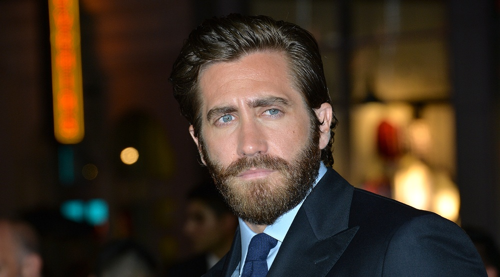 "Jake Gyllenhaal at the American premiere of his movie ""Everest"" at the TCL Chinese Theatre, Hollywood (Featureflash Photo Agency/Shutterstock)"