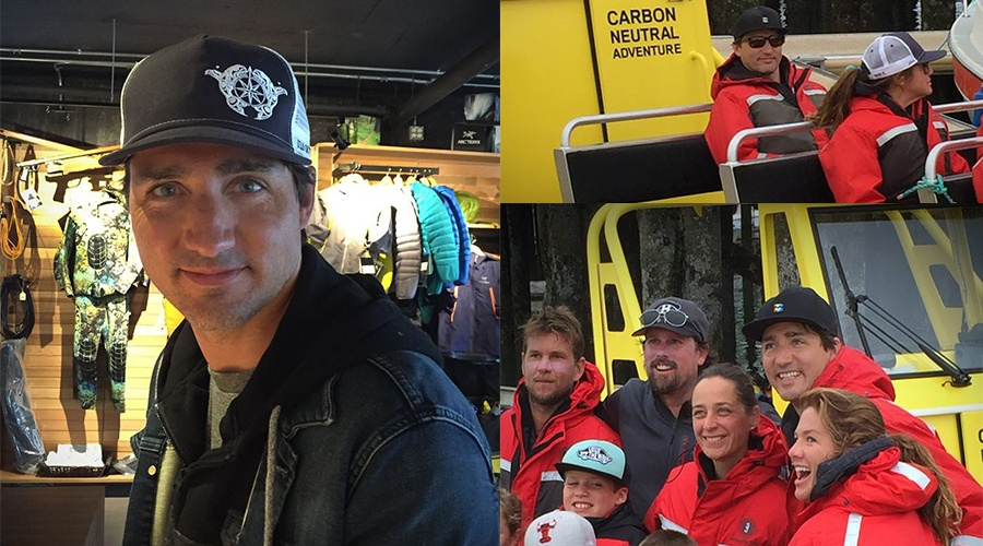Justin Trudeau went whale watching in Tofino (PHOTOS)