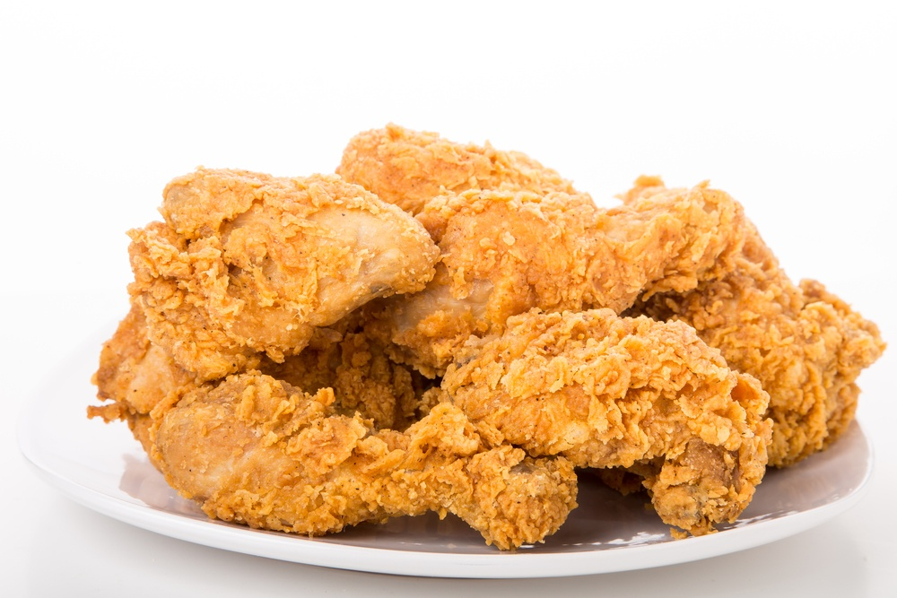Fried chicken/Shutterstock