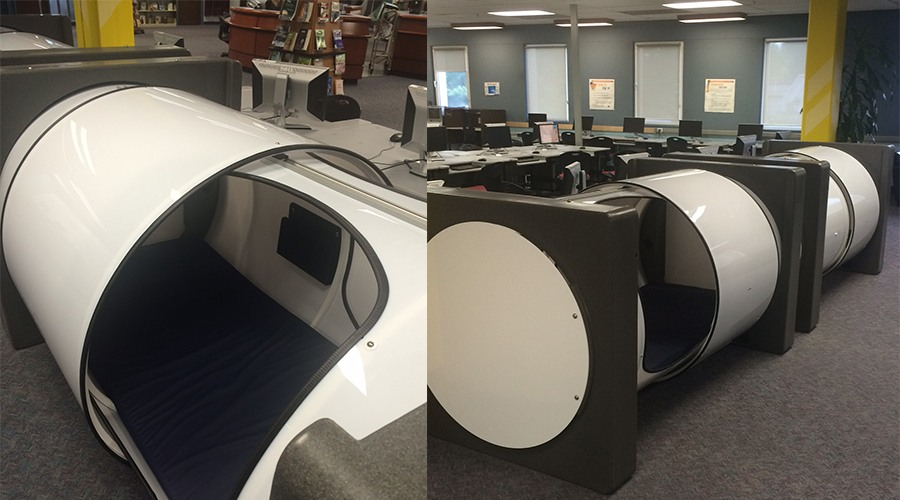 Nap time: Sleep pods now available to BCIT students