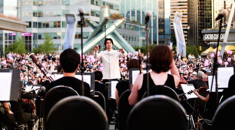 Vancouver metropolitan orchestra jack poole plaza concert