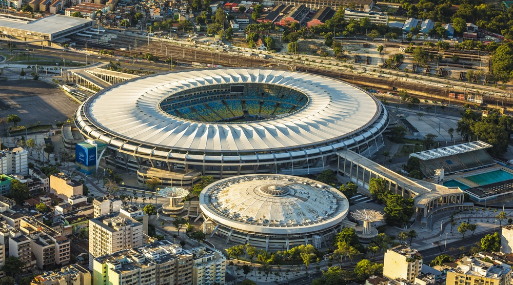 Maracana stadium rio de janeiro 2016