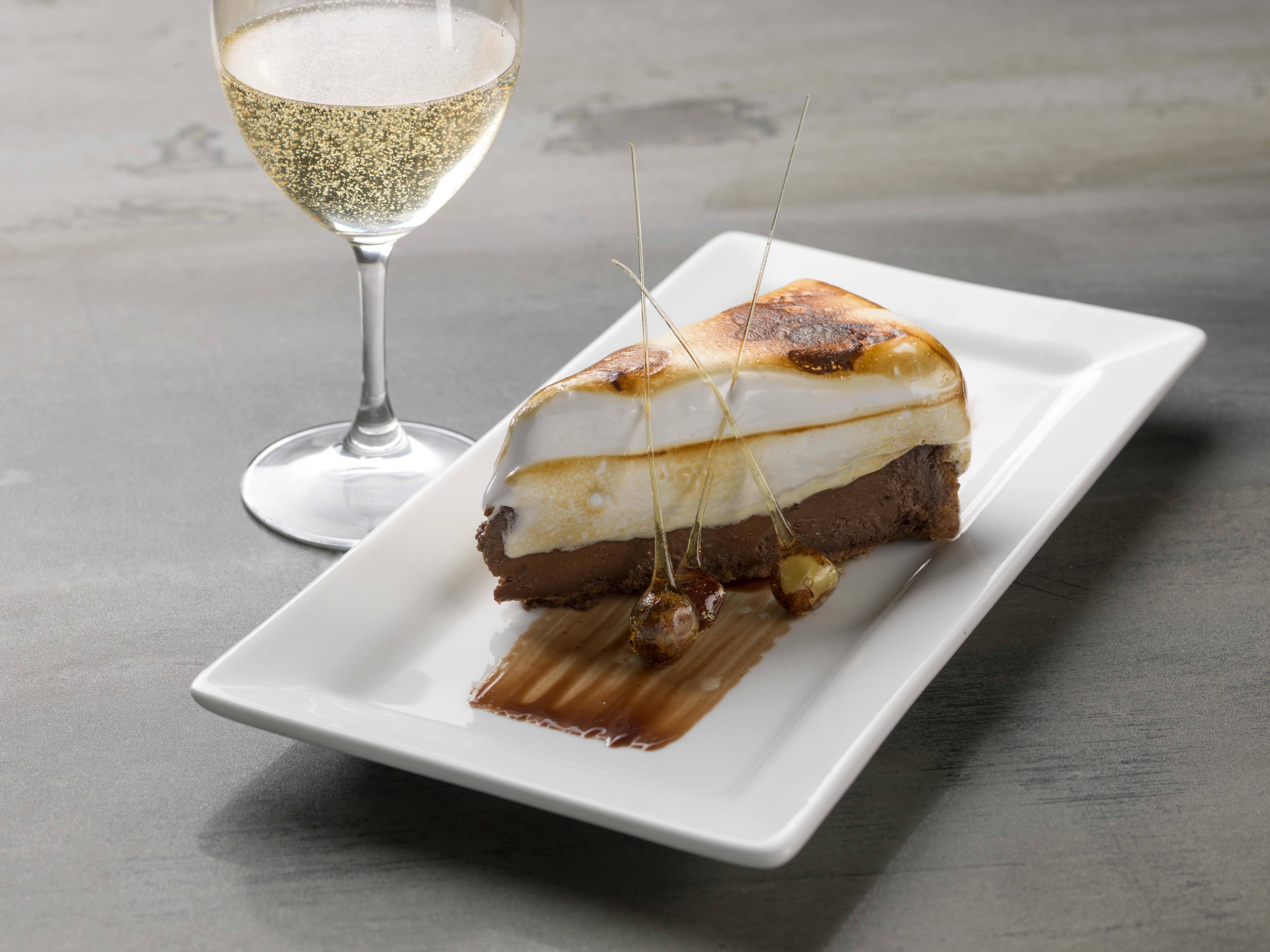 S'mores Cheesecake (Photo courtesy Fanny Bay Oyster Bar)