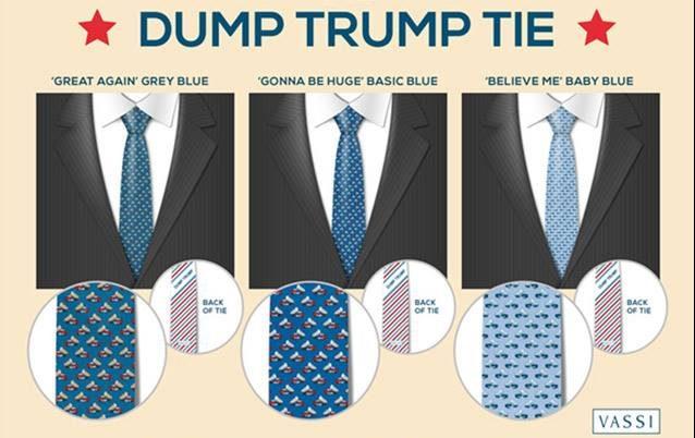 Dump Trump Vassi ties