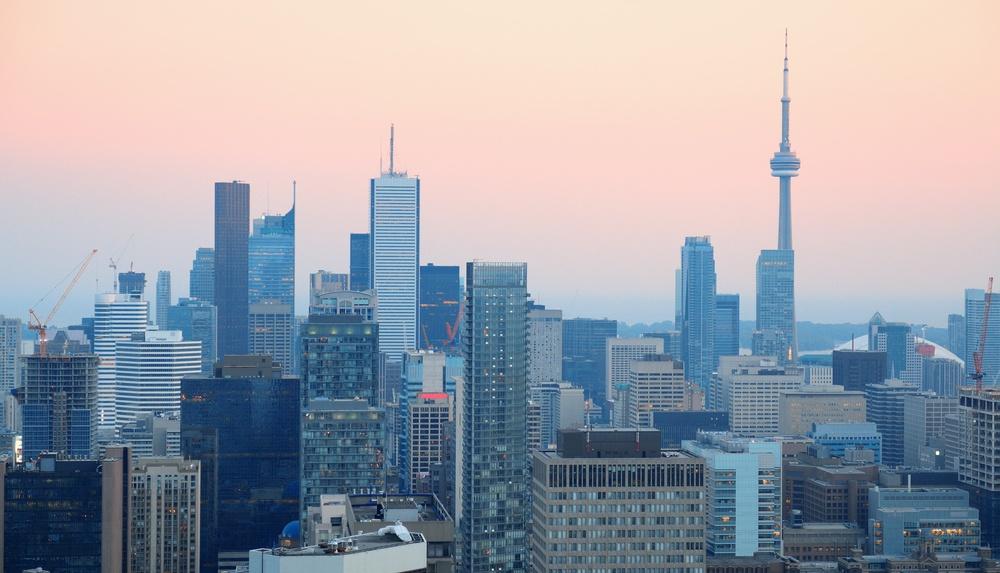 Toronto haze