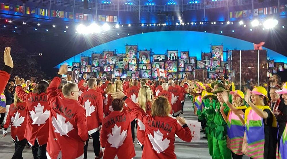 Canada olympic opening ceremony