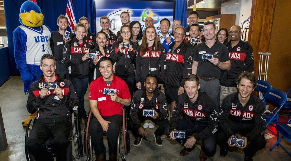 Ubc thunderbirds athletes olympics rio 2016