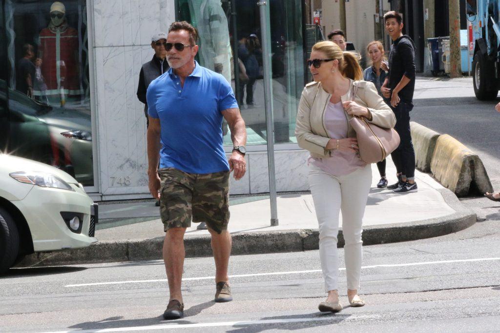 Arnold Schwarzenegger Vancouver