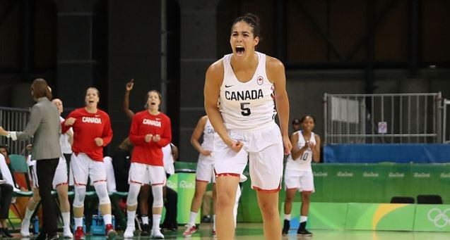 Canada mounts huge comeback to defeat Serbia, remains perfect in women's basketball