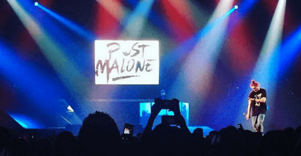 Post Malone Calgary concert 2016 at MacEwan Hall