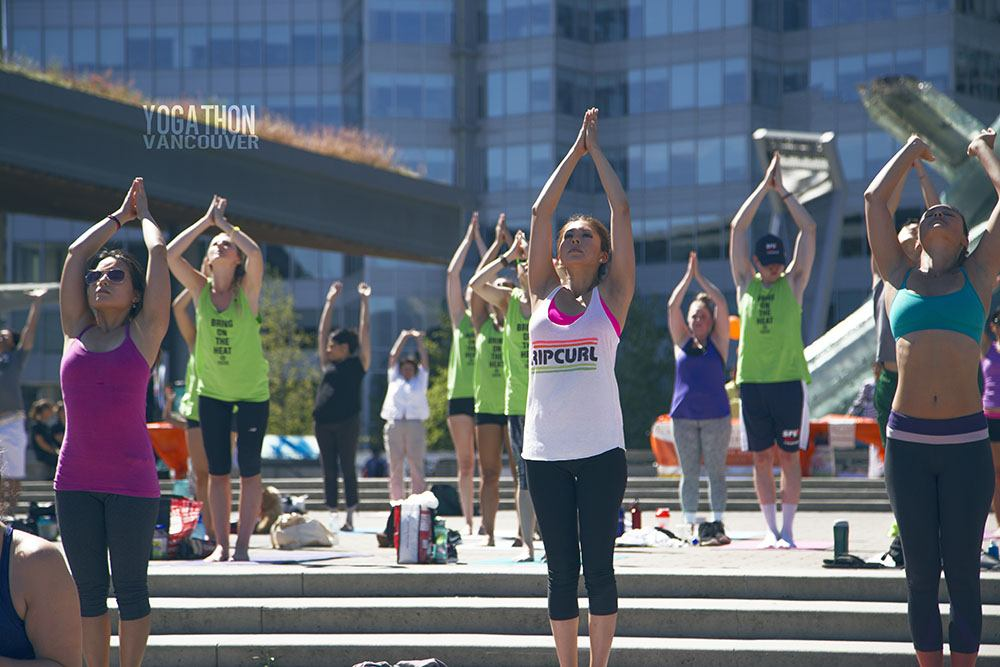 Yogathon Vancouver 2015 (Alesha Photography/Yogathon Vancouver)