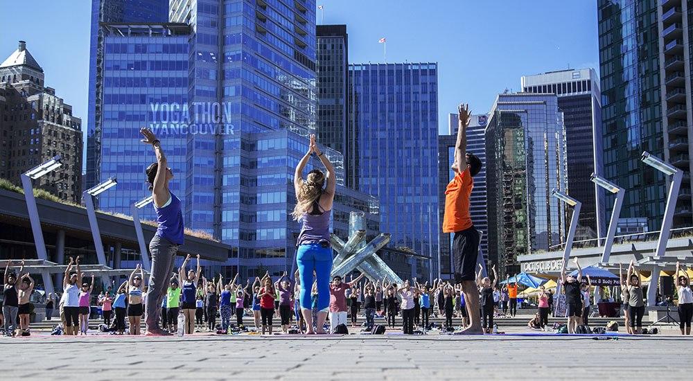 Join Yogathon Vancouver to #RiseForACause