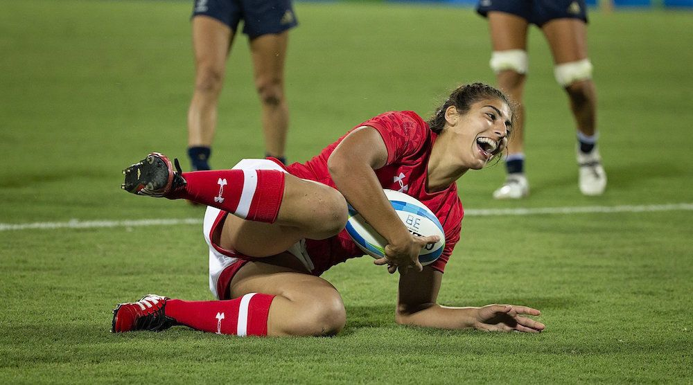 Canada wins bronze in women's rugby sevens