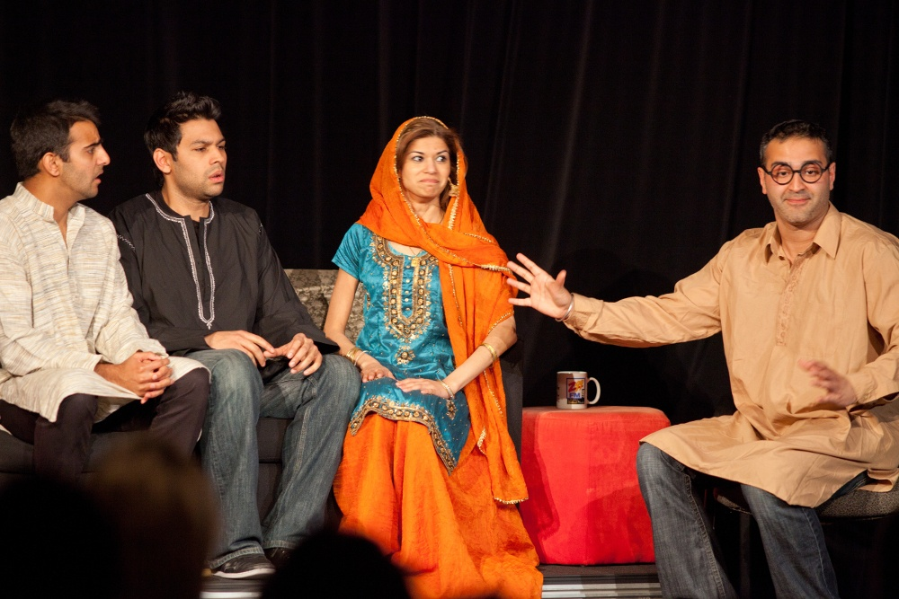 I Can't Believe It's Not Butter Chicken serves up South Asian comedy at Monsoon Festival of Performing Arts