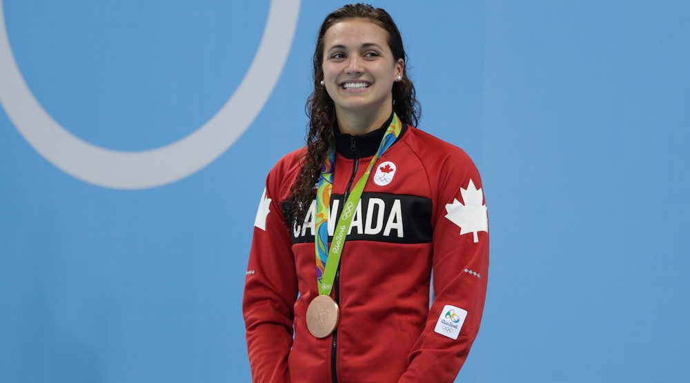 Kylie Masse wins bronze for Canada in swimming