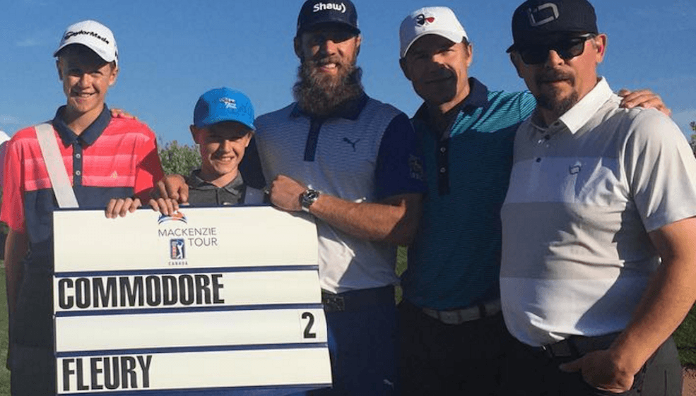 Theo Fleury hosts fundraiser golf tournament for Breaking Free Foundation