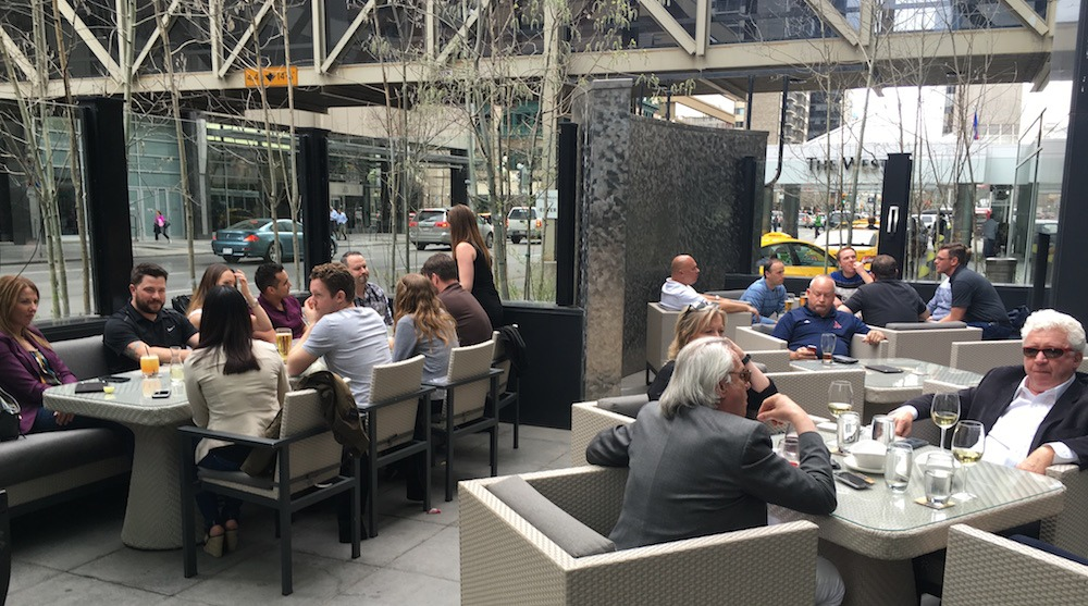 Keg 4th ave patio