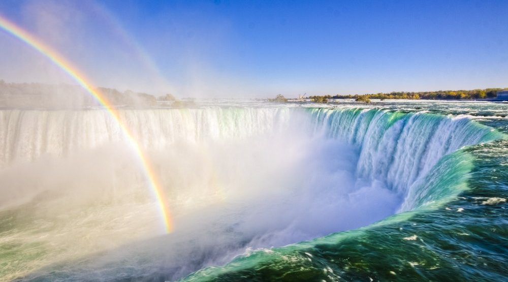 You can take the train from Toronto to Niagara Falls for $25 return this summer