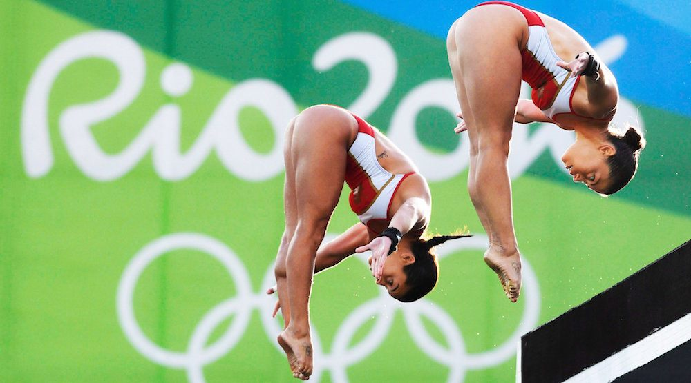 Benfeito & Filion win bronze for Canada in synchronized diving