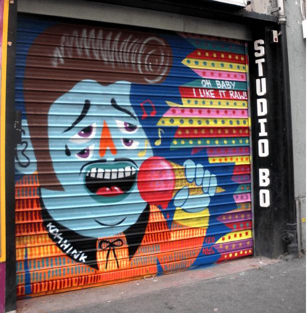 Image: Kashink / Rue des Pyrenees - Paris