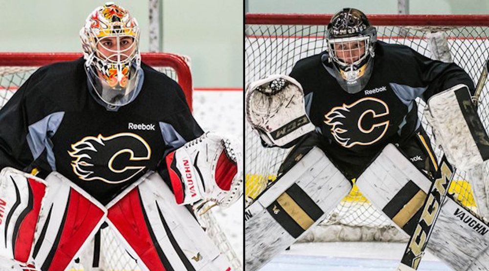 Pressure on for Flames goalie prospects