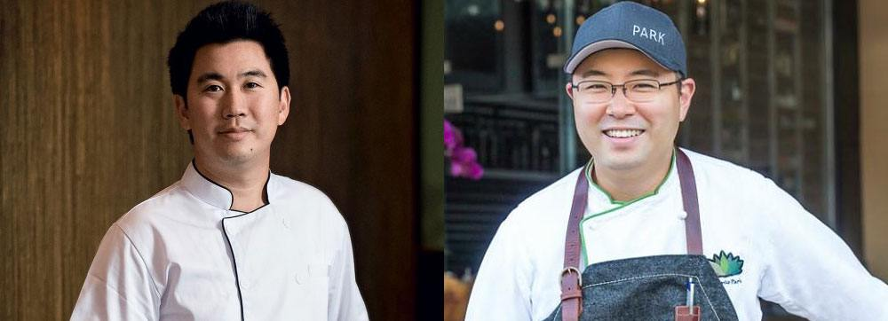 Chefs Angus An (left) and Antonio Park (Photo courtesy EAT! Vancouver)