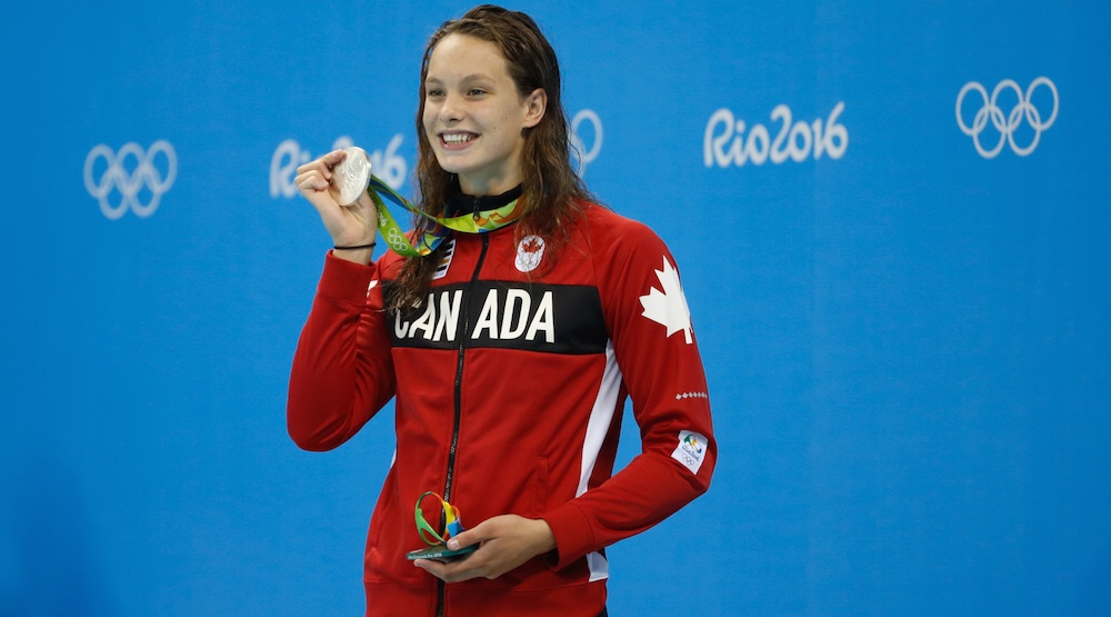 Penny Oleksiak can't wait to play Pokémon GO when she gets home