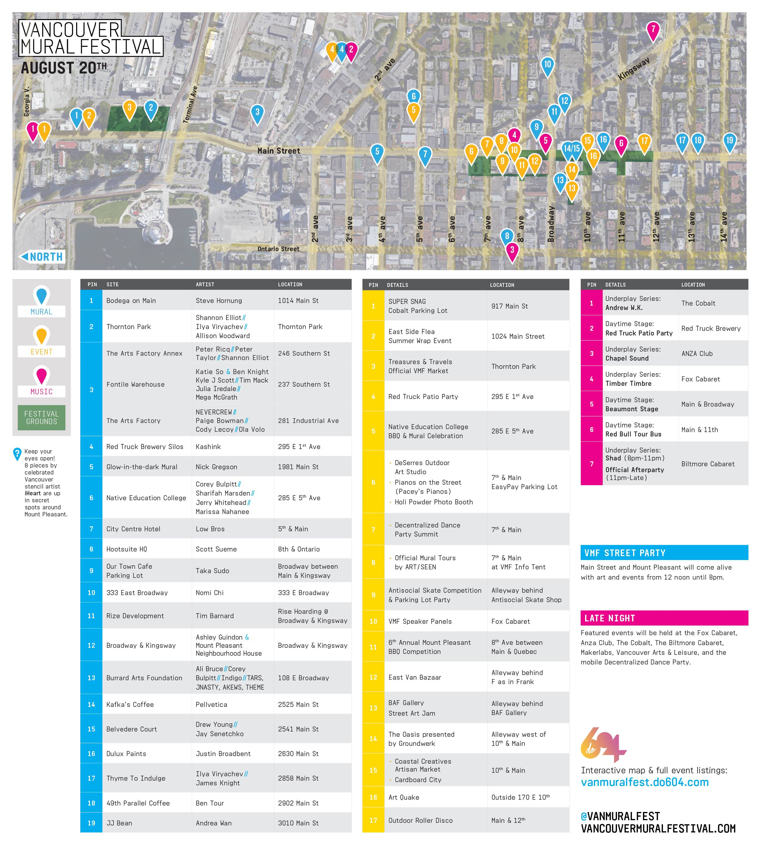 Vancouver Mural Festival Map: Where to find all 41 new permanent ...