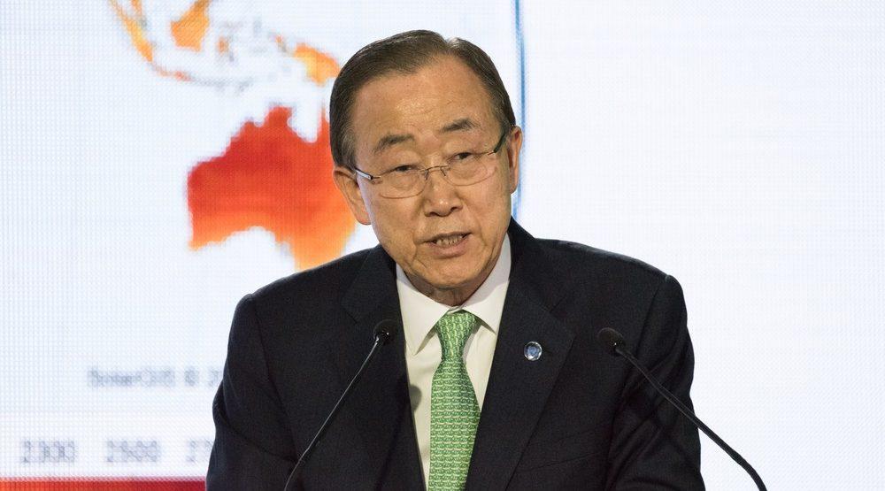 UN Secretary General Ban Ki-moon to speak at University of Calgary