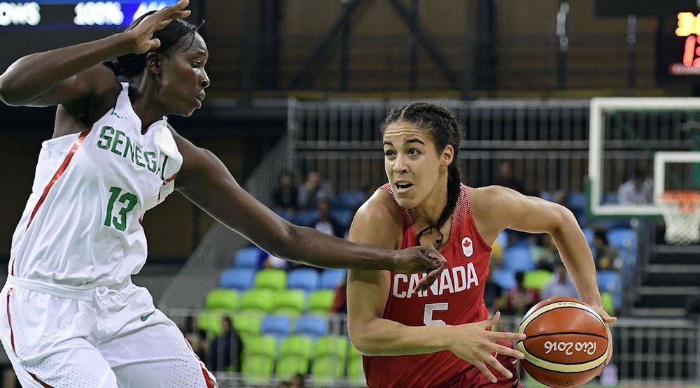 Canada wins again, qualifies for quarter-final in women's basketball at Rio 2016 Olympics
