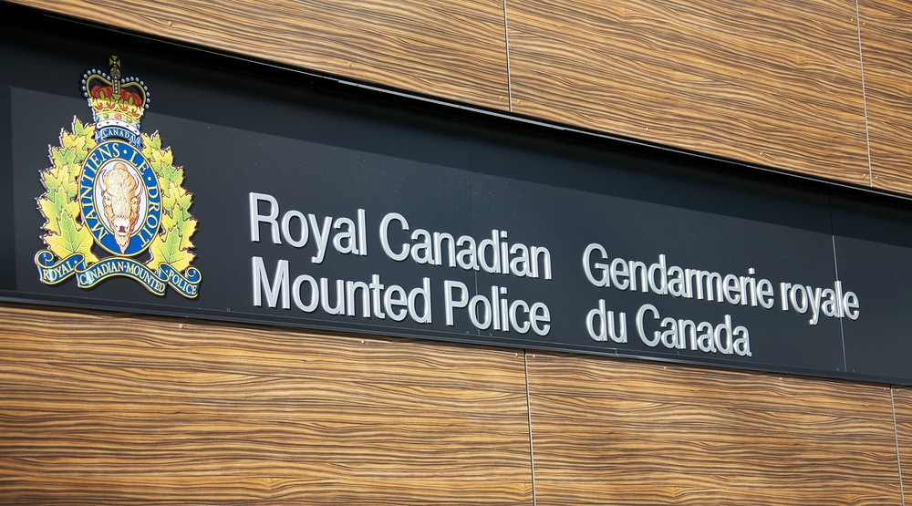 Rcmp sign shutterstock