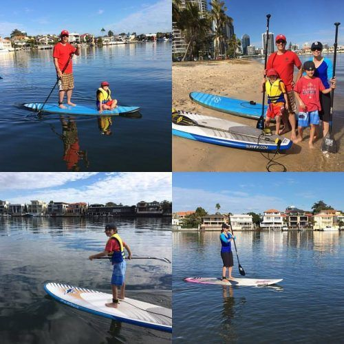 SUP with Go Vertical on Nerang River, Gold Coast