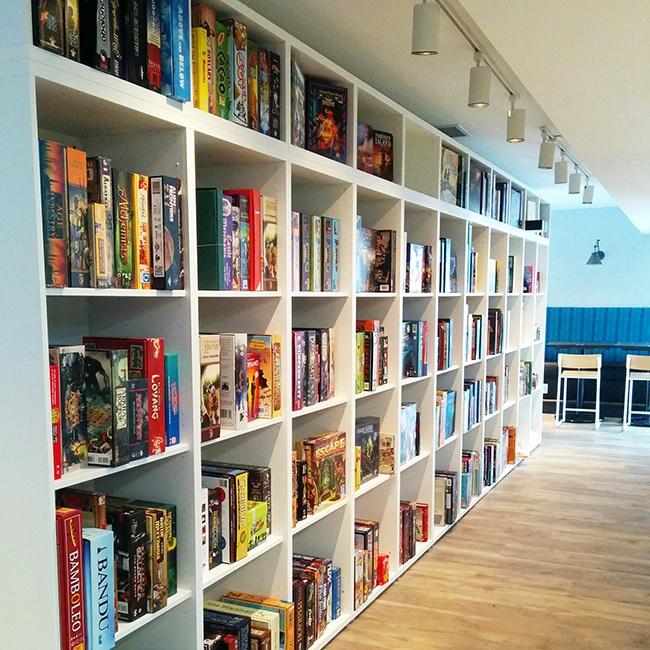 Photo courtesy The Hexagon Board Game Cafe