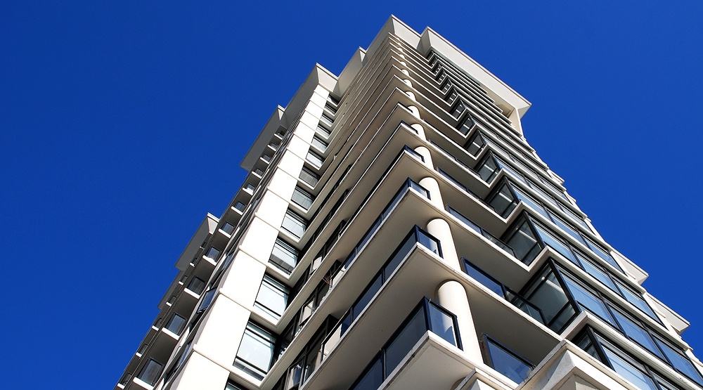 Condo building in vancouver shutterstock