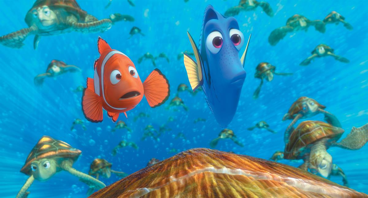 Free outdoor showing of Finding Nemo at Trimble Park