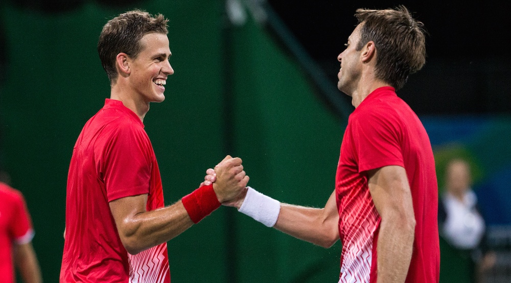 Canada's Nestor and Pospisil will play for bronze in Olympic tennis