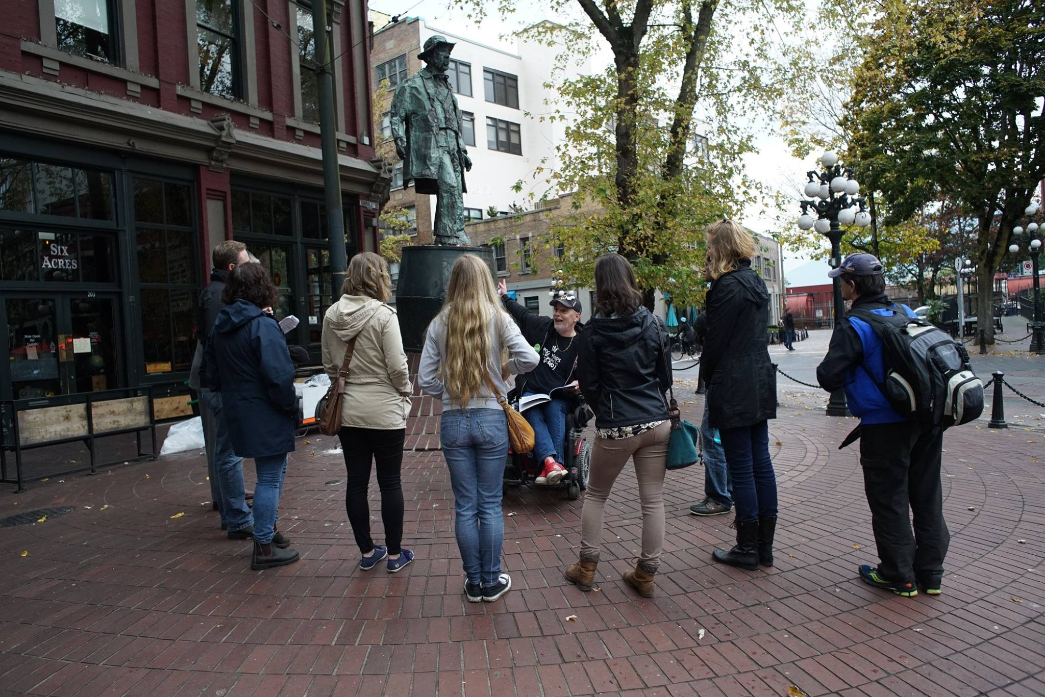 One of the United Gospel Mission's previous guided walks in Gastown and the Downtown Eastside (UGM/Facebook)