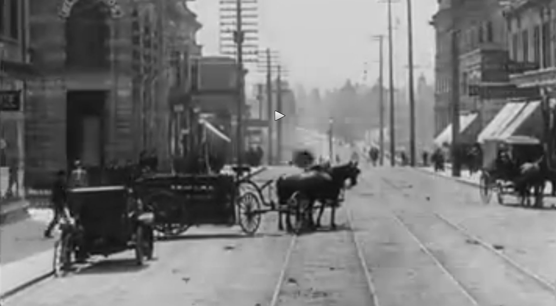 Amazing archive video shows life in Vancouver in 1900s