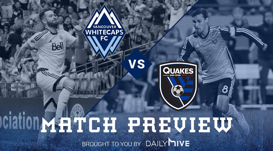 Game Preview: Whitecaps try to get back in playoff position against San Jose