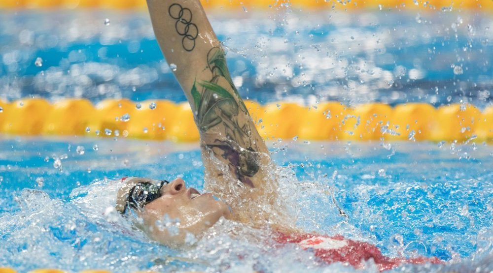 Canada's pool party continues: Hilary Caldwell earns bronze for Canada's 10th Olympic medal