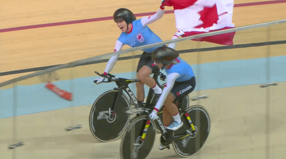 Canada wins Olympic bronze in team pursuit cycling