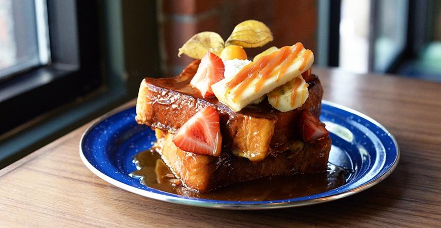 La mezcaleria vancouver brunch french toast