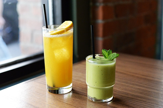 Brunch time beverages (Jess Fleming/Daily Hive)