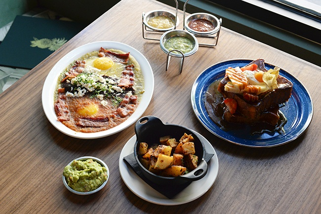 Brunch is served at La Mezcaleria (Jess Fleming/Daily Hive)