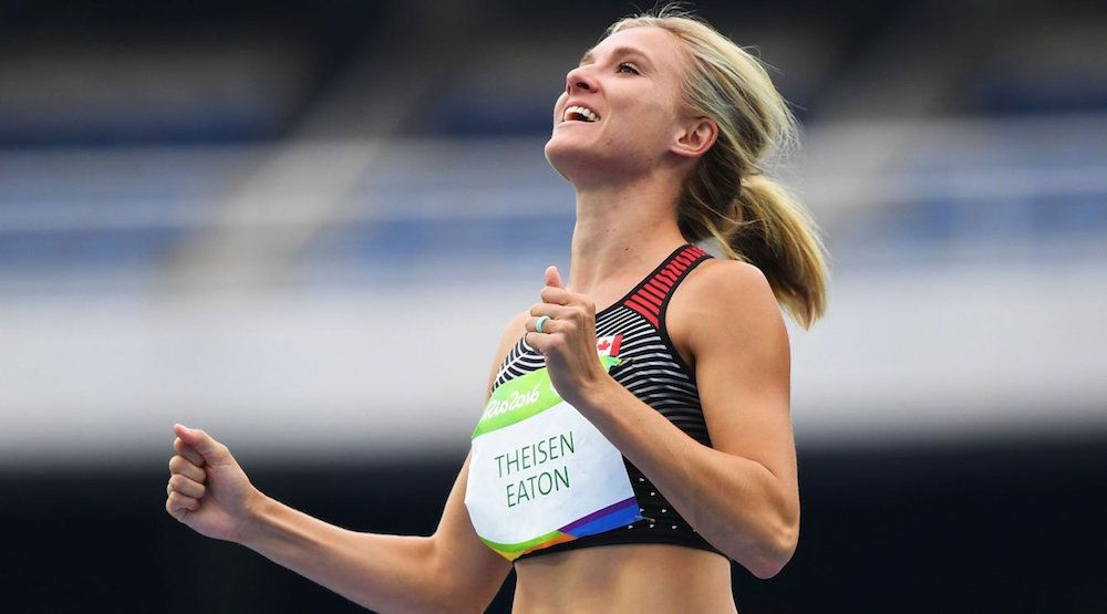 Canada's Brianne Theisen-Eaton wins Olympic bronze in heptathlon
