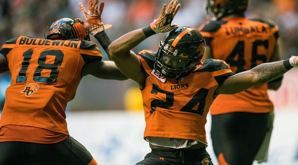 Lions' Jeremiah Johnson named CFL Player of the Week