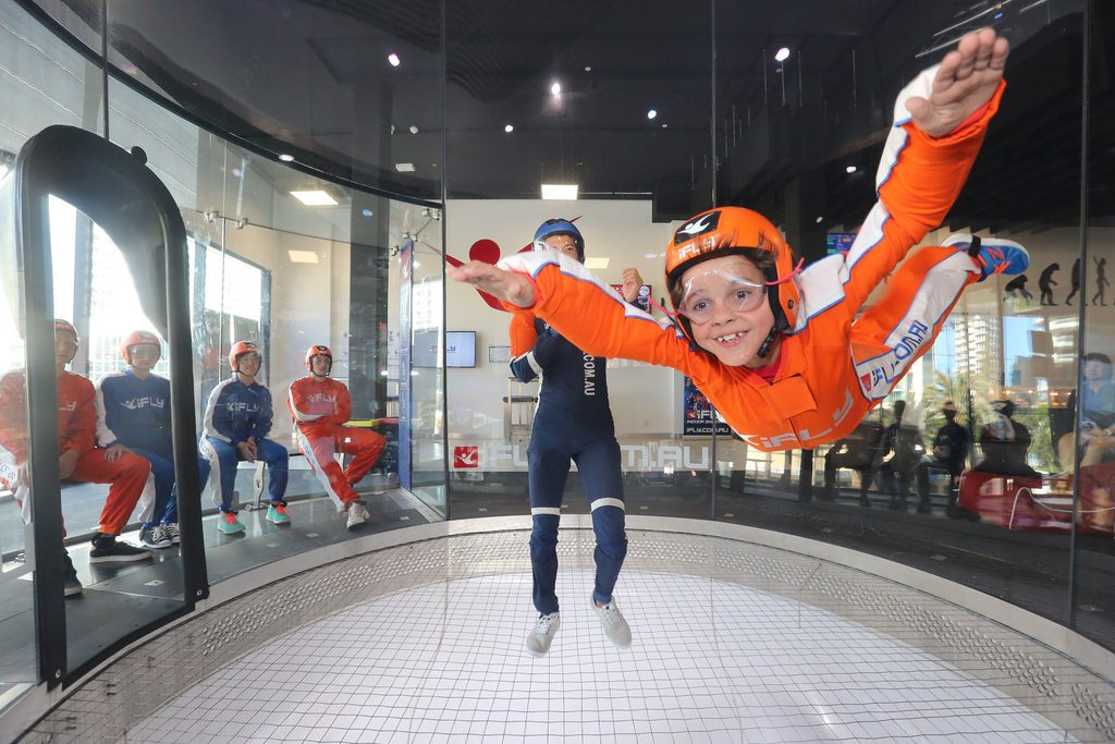 Indoor Skydiving at iFLY Down Under
